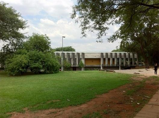 Vegetação e área permeável na Cidade Universitária da USP, São Paulo<br />Foto Abilio Guerra