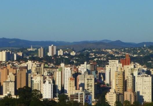 Vista panorâmica de Campinas SP<br />Foto Enio Prado, 27 jul. 2013