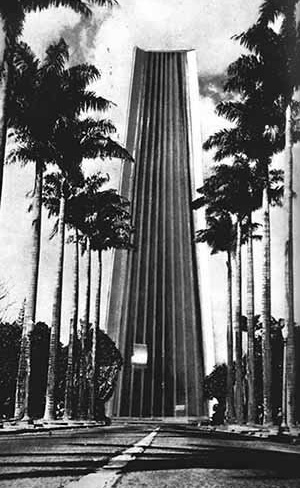 """Estudo de Oscar Niemeyer, encomendado na gestão Israel Pinheiro, para """"substituir"""" o Palácio da Liberdade por um mais imponente """"marco para o governo de Minas Gerais"""", 1969"""