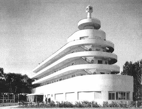"Planeta Palace Hotel em Atlántida, Uruguai. Arquiteto Natalio Michelizzi, 1939 [""Barcos de ladrillo""]"