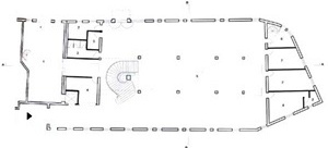 Teatro Gregório de Mattos. Planta baixa [OLIVEIRA, Olivia de (org). 2G. Revista internacional de arquitectura. Lina Bo Bardi. Obra ]