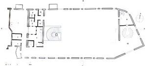 Teatro Gregório de Mattos. Planta primeiro pavimento [OLIVEIRA, Olivia de (org). 2G. Revista internacional de arquitectura. Lina Bo Bardi. Obra ]