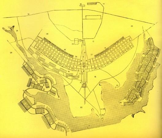 FERNÁNDEZ, Nicolás. Informe sobre Brasilia. Hogar y Arquitectura, Madrid, n. 33, mar./abr. 1961, p. 26-40 [detalle]<br />Imagen divulgación