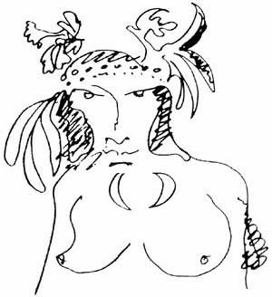 Desenho de P. M. da Rocha durante projeto do Pavilhão de Osaka [ARTIGAS, Rosa. Paulo Mendes da Rocha. São Paulo: Cosac & Naify, 2000. p.78.]