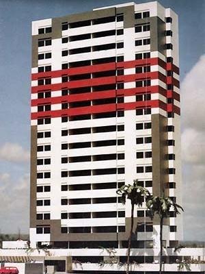 Figura 01 – Prospecto promocional do Edifício Cap Ferrat. Construtora Exata