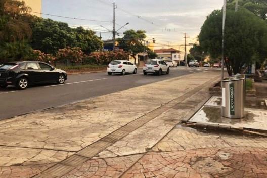 Arredores da Catedral de São Sebastião, Presidente Prudente SP, situação atual<br />Foto Angelica Benatti Alvim