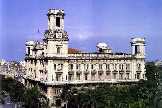 Palacio construido en 1927 por los asturianos residentes en La Habana, para su sociedad