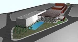 5. Centro de Artes Corpo, vista aérea, Nova Lima MG, 2001. Fonte: Edson Mahfuz (34)<br />Edson Mahfuz e equipe  [Edson Mahfuz]