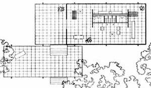 12. Casa Farnsworth, planta, Illinois, 1945-50<br />Mies van der Rohe  [CARTER, Peter. Op. cit.]