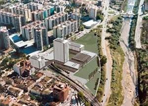 16. Conjunto Multifuncional, vista aérea, Rubi, Espanha, 2002 (42)<br />Helio Piñón  [Helio Piñón]