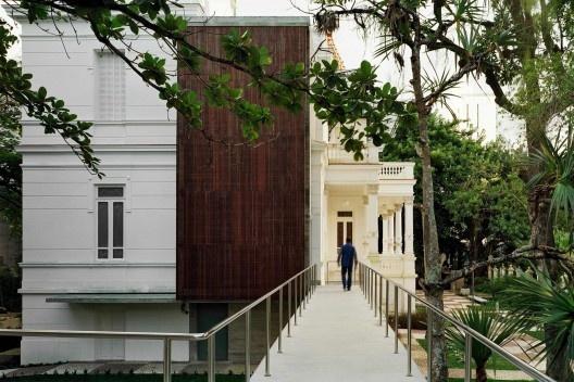 Museu Rodin, Salvador BA. Escritório Brasil Arquitetura<br />Foto Nelson Kon