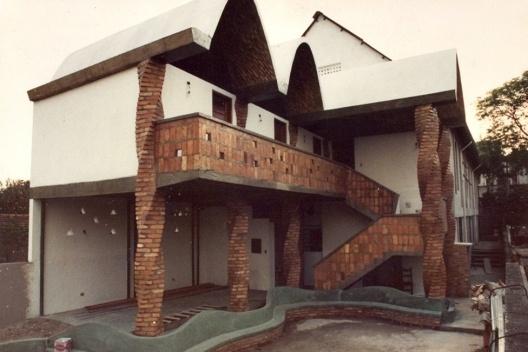 Igreja Presbiteriana Independente, Oficina de Arquitetura. Ipiranga, São Paulo, 1987<br />Foto Vitor Lotufo