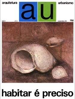 AU – Arquitetura e Urbanismo, nº 3, novembro 1985. ISSN 0102-8979
