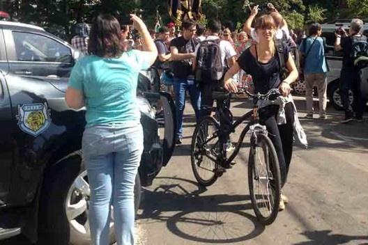 Manifestação pró Parque Augusta <br />Foto Vinicius Martins