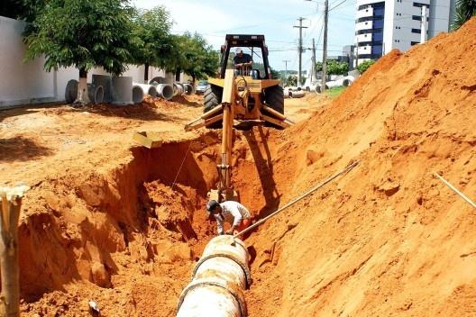 Obras de saneamento básico financiadas pelo Ministério das Cidades<br />Foto divulgação  [EBC]