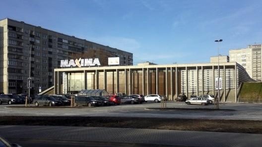 Supermercado Máxima, projeto de HND Grupa, Riga, Letônia<br />Foto Edgars Košovojs  [Wikimedia Commons]