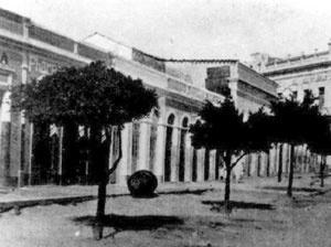 Manifestações classicizantes na rua Maciel Pinheiro (1932) [Museu Histórico de Campina Grande]