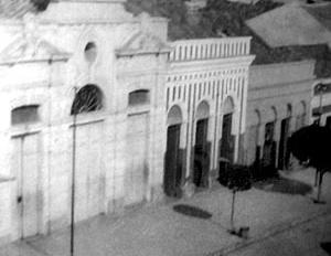 Mercado Novo, na rua Maciel Pinheiro. Percebe-se a adoção da linguagem classicizante (1925) [Museu Histórico de Campina Grande]