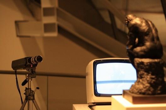 TV Rodin, obra de Nam June Paik<br />Foto Lutero Pröscholdt/Milene Migliano