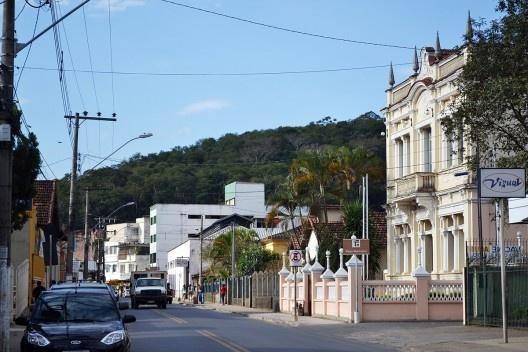 Centro urbano de Matias Barbosa<br />Foto Fábio Lima