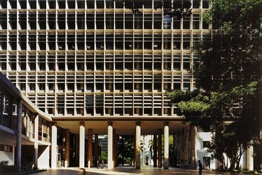 Ministério da Educação e Saúde, atual Palácio Capanema, Rio de Janeiro<br />Foto Nelson Kon