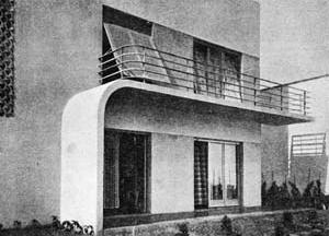 Figura 15 - Residência do Sr. Adalbert Vertecz em Ipanema, Rio de Janeiro. Arquiteto Alexander Altberg, 1932-33