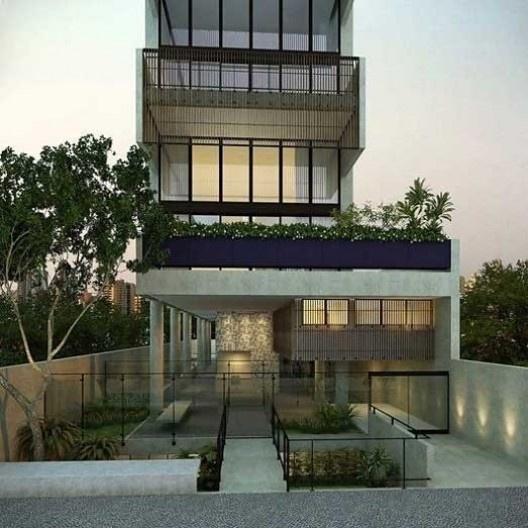 Edifício Itacolomi 445, Higienópolis, São Paulo. Escritório GrupoSP<br />Imagem divulgação  [Website IdeaZarvos]