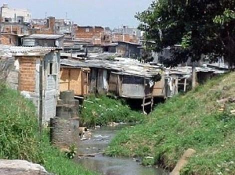 Favela na região sudoeste de São Paulo<br />Foto divulgação