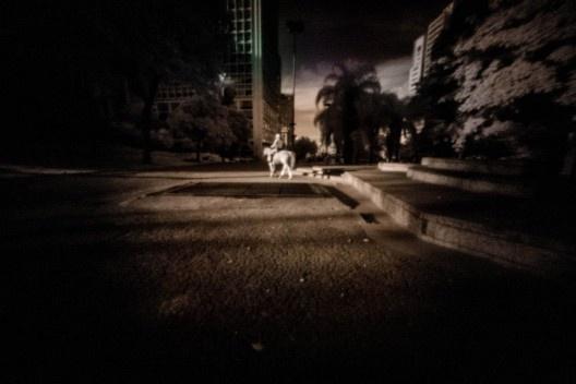 """Exposição """"Oxímoro"""", de Antonio Saggese, Biblioteca Mário de Andrade, São Paulo, jul. 2019<br />Foto Antonio Saggese/ divulgação"""