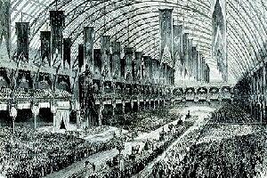 Exposição Universal de Paris, 1867. © L'Illustration, Nr. 1272, 13.7.1867, S. 21f. Disponível em www.expo2000.de/expo2000/geschichte/detail.php. Acesso em 26 mar. 2007