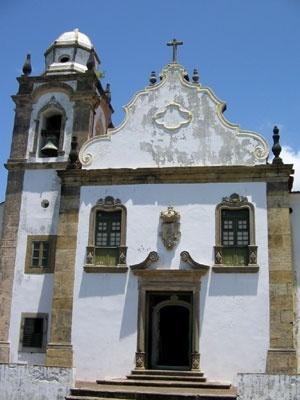 Ladeira e Igreja da Misericórdia, Alto da Sé, Olinda<br />Foto Eliane Lordello  [Acervo Eliane Lordello]