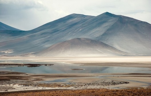 Laguna Miñiques, Altiplano no Atacama, Chile<br />Foto José Tabacow