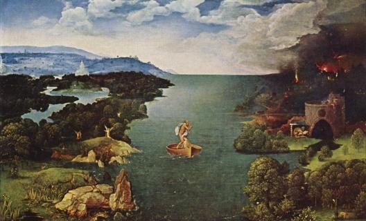 Viagem ao submundo, 1515-1524<br />Joachim Patinir  [Wikimedia Commons]