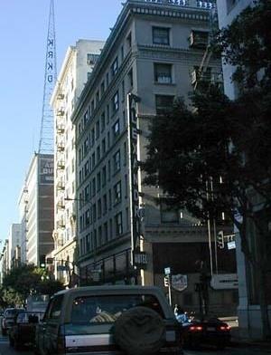 LA, Antigo Hotel Alexandria, 1907. na esquina da Spring com a 5th Street.  [http://www.you-are-here.com]
