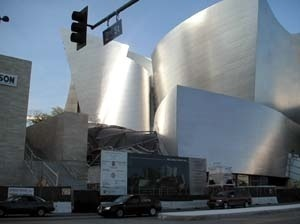 LA, Walt Disney Concert Hall, do arquiteto Frank Gehry