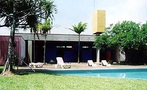 Residência James King, arquiteto Paulo Mendes da Rocha, 1980<br />Foto Maurício Azenha Dias