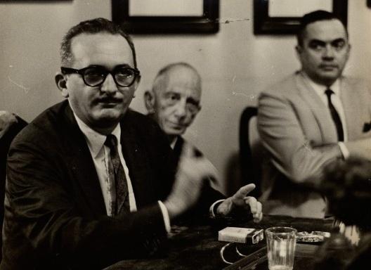 Paulo Freire, 1963<br />Disclosure imagem  [Arquivo Nacional]