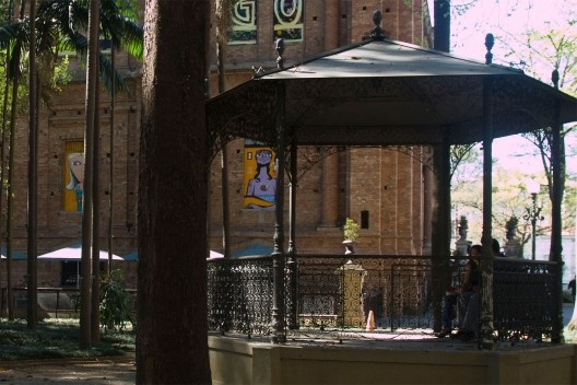 Jardim da Luz e Pinacoteca do Estado<br />Foto Silvana Romano