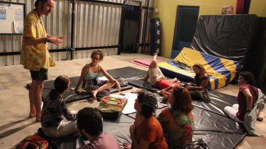 Processo participativo para a definição dos caminhos projetuais de um habitat coletivo norteado pelos princípios de um cohousing em Pium RN<br />Foto Jessica Bittencourt Bezerra, 2015