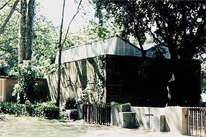 Pavilhão da Finlandia, Alvar Aalto, 1956<br />Foto A. Guerra
