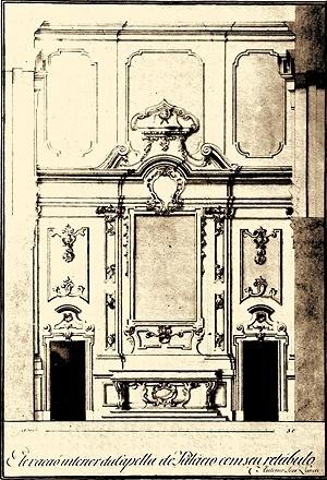 Fig. 9 - Altar-mor da Capela do Palácio dos Governadores<br />Isabel Mayer Godinho Mendonça