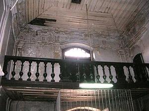 Fig. 10 - Balcão com a porta de acesso à residência [Domingos Oliveira, 2007]