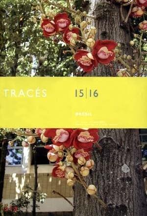 Capa da revista Tracés, n. 131, Lausanne, Suíça, 17 ago. 2005, número especial sobre o Brasil