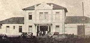 Edifício da estação ferroviária de Campo Grande, construído em 1935
