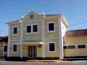 Edifício da estação ferroviária de Campo Grande, situação atual