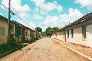 Casas da Vila dos Ferroviários