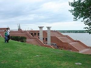 Ribeira, Parque España e rio Paraná (2007) [Soledad Ferrería]