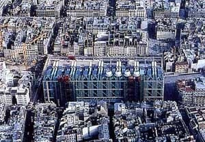 Centro Pompidou, Piano e Rogers