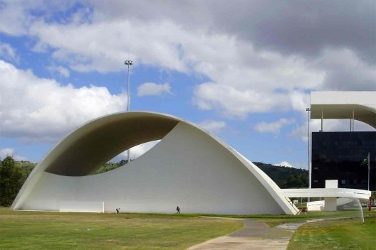 Cidade Administrativa Tancredo Neves, Belo Horizonte. Arquiteto Oscar Niemeyer<br />Foto Abilio Guerra