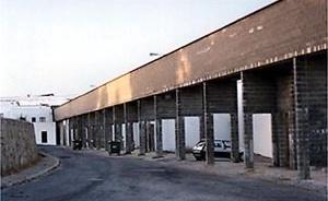 Fig.12 – Suspended infra-estructure at Malagueira<br />Foto JAZ, 1997